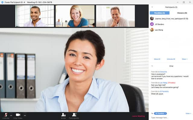 What can Zoom offer for business video conferencing, audio and Web meetings?